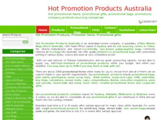 hotpromotionproducts.com.au screenshot