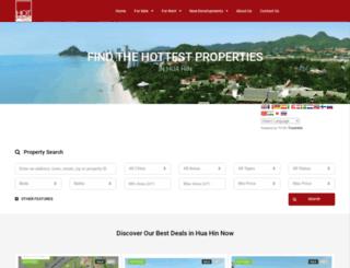 hotpropertyhuahin.com screenshot