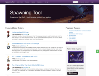 hots.spawningtool.com screenshot