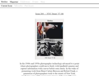 hotshoeinternational.com screenshot