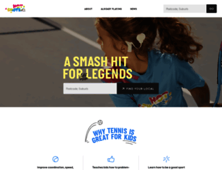 hotshots.tennis.com.au screenshot