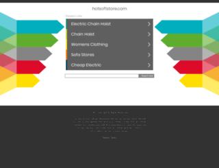 hotsoftstore.com screenshot