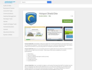 hotspot-shield-elite.joydownload.com screenshot