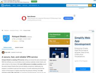 hotspot-shield.en.softonic.com screenshot