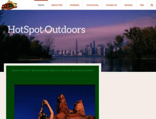 hotspotoutdoors.com screenshot