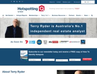 hotspotting.com.au screenshot