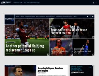 hotspurhq.com screenshot