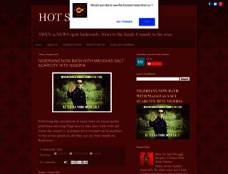 hotswen.com screenshot