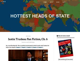 hottestheadsofstate.com screenshot