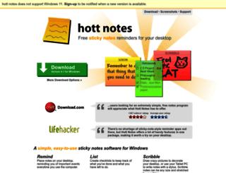 hottnotes.com screenshot