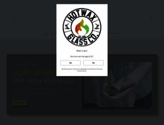 hotwaxglass.com screenshot
