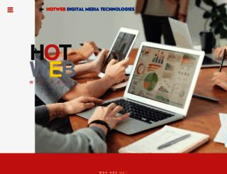 hotweb.in screenshot