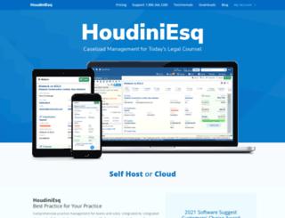 houdiniesq.com screenshot