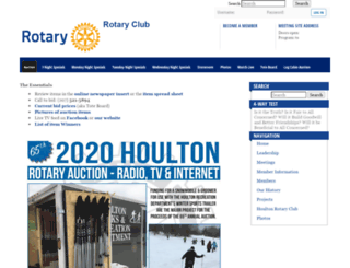 houltonrotary.org screenshot