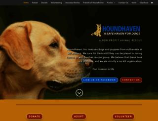 houndhaven.org screenshot