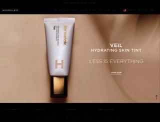 hourglasscosmetics.com screenshot
