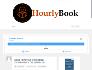 hourlybook.com screenshot