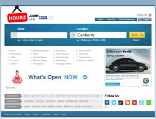 hourssign.com.au screenshot