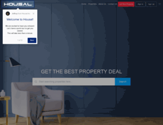 housal.com screenshot