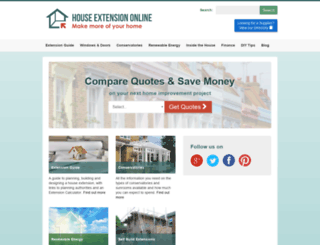 house-extension.co.uk screenshot