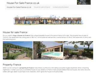 house-for-sale-france.co.uk screenshot