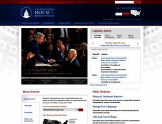 house.gov screenshot