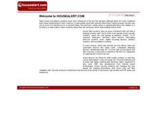 housealert.com screenshot