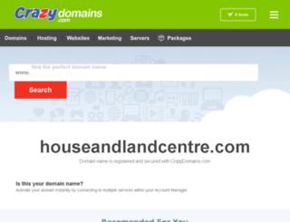 houseandlandcentre.com screenshot