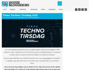 housebloggen.no screenshot