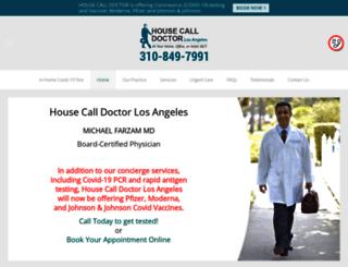 housecalldoctorla.com screenshot