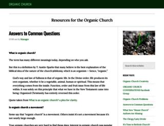 housechurchresource.org screenshot