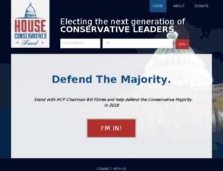 houseconservatives.nationbuilder.com screenshot