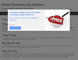 houseconveyancingsolicitors.co.uk screenshot