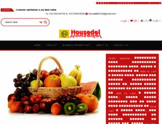 housedel.com screenshot