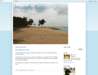 houseflybuzz.blogspot.com screenshot