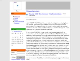 houseforeclosures.mobilblogg.no screenshot