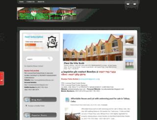houseforsale-cebu.blogspot.com screenshot