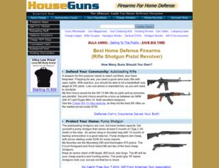 houseguns.com screenshot