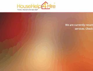 househelp4hire.com screenshot