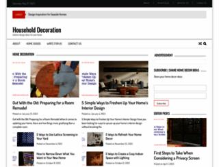 household-decoration.com screenshot