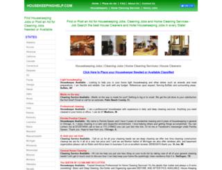housekeepinghelp.com screenshot