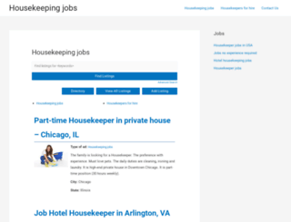 housekeepinghelp.info screenshot