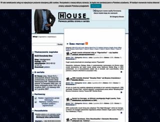 housemd.info.pl screenshot