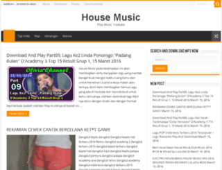 housemusic.site screenshot