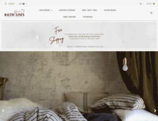houseofbalticlinen.com screenshot