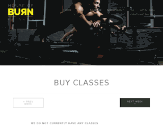 houseofburn.zingfit.com screenshot