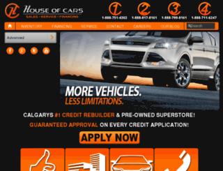 houseofcarsgroup.autotrader.ca screenshot