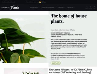 houseofplants.co.uk screenshot