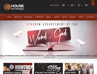 houseofpraise.co.uk screenshot