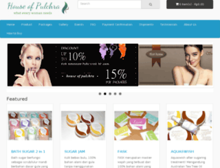houseofpulchra.com screenshot